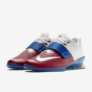 Nike Romaleos 3 Americana Team Red White Gym Blue